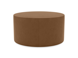 Round Coffee Table Galaxy Wild Whiskey Premium Leather
