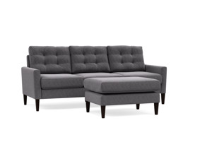 Modular Couch Burrard Dark Grey