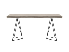 Desk Texa Cascade Top Black Legs