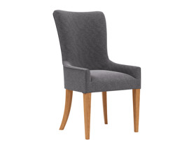 Carver Dining Chair Palermo Storm Grey