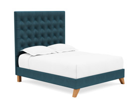 Platform Bed Orion Adriatic Ligh Blue