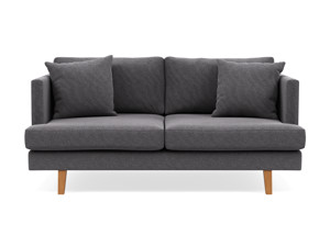2 Seater Couch Orson Grey