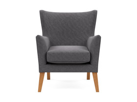 Occasional Chair Shanghai Dark Grey