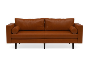 3 Seater Couch Volu Tan Leather
