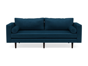 3 Seater Couch Volu Peacock Blue