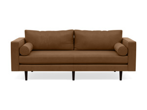 3 Seater Couch Volu Wild Whiskey Leather