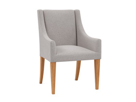 Carver Dining Chair Anne Cement